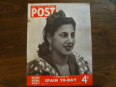 PICTURE POST - 29th JUNE 1946 - Vol. 31  Number 13 - SPAIN TODAY