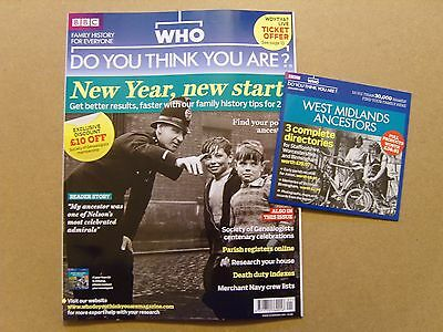 Who Do You Think You Are Magazine #43 - January 2011 + Free Cd