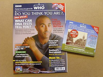 Who Do You Think You Are Magazine #6 - March 2008 - Colin Campbell + Free Cd