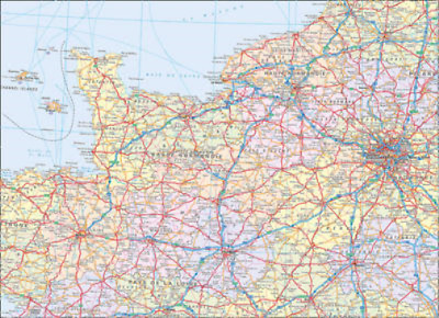 International Road Map - 2010 Map of France, , Used; Good Book