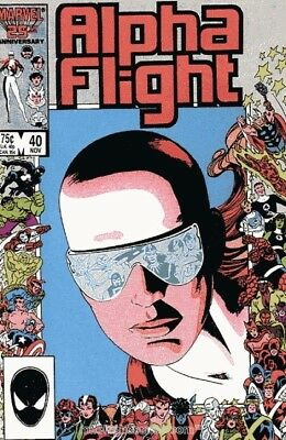 Alpha Flight #40 Vol.1 Vf/nm (X-Men)