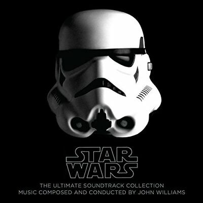 Williams,john (W/dvd)-Star Wars: The Ultimate Soundtrack Collection  Cd New