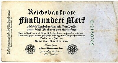 1923 Germany?? Weimar?? Hyperinflation Paper Money Note.....starts @ 2.99