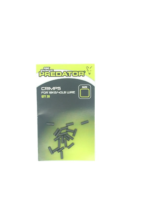 Fox Rage Predator Crimps For Pike Fishing Pack Of 20
