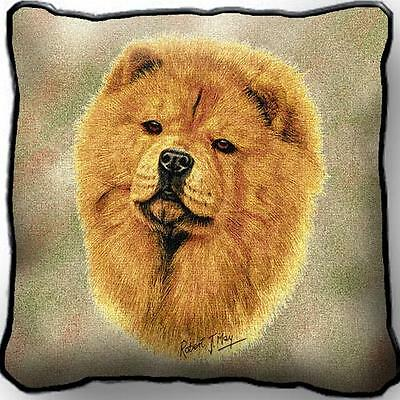 "17"" x 17"" Pillow - Chow Chow by Robert May 1165"