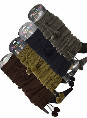 Knitted Leg Warmers Warm Winter Boot Cuffs