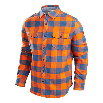 Troy Lee Designs Octane Woven Shirt Rust Orange Mens Size XL