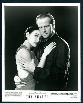JOAN CHEN CHRISTOPHER LAMBERT in The Hunted '95 EMBRACE