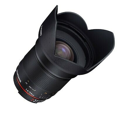 Samyang 24mm F1.4 Wide Angle Lens  For Canon  ED AS IF UMC  - SY24M-C