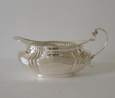A Vintage Sterling Silver Cream Jug Sheffield 1919 Joseph Rodgers & Sons