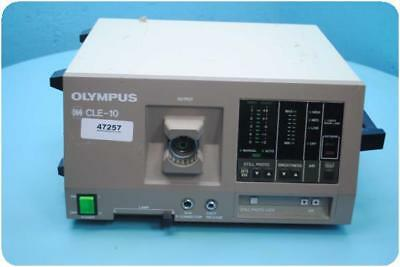 Olympus Cle-10 Oes Halogen Light Source @ (93393)