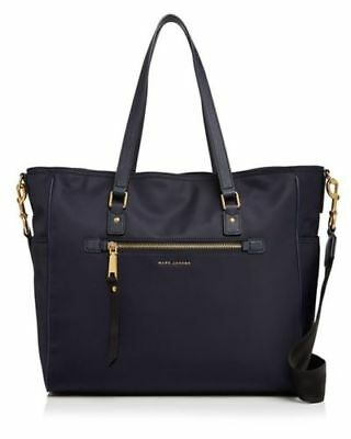 NWT $325 Marc Jacobs Trooper Nylon Large Baby Diaper Bag Tote Midnight Blue