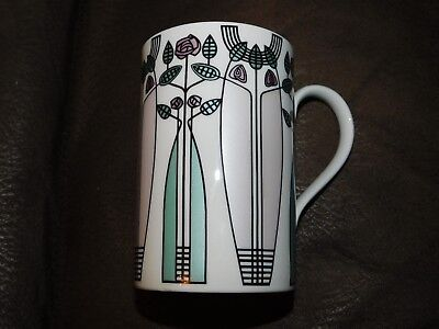"""Dunoon Stoneware Mug - """"kelvin"""" In The Style Of Mackintosh - Made In Scotland"""