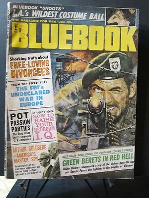 Blue Book Magazine September 1965 Green Berets in Red Hell by Robin Moore