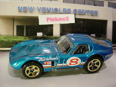 2014 Hot Wheels SHELBY COBRA DAYTONA☆Candy BLUE; 8☆Loose☆Multi Pack Exclusive