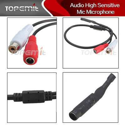 Lorex ACCMIC1 Audio Mic For Security Dvr Perp Incl 60ft Cable Oem Packaging