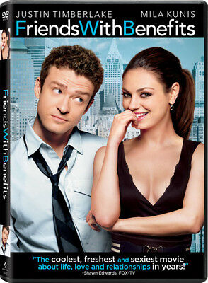 Friends with Benefits [New DVD] Ac-3/Dolby Digital, Dolby, Dubbed, Subtitled,