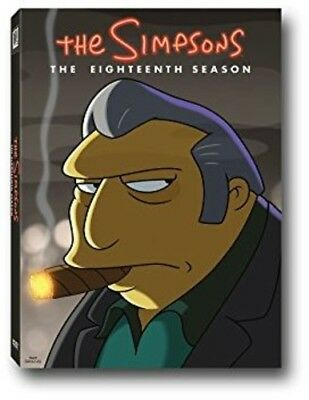 The Simpsons: The Eighteenth Season [New DVD] Boxed Set