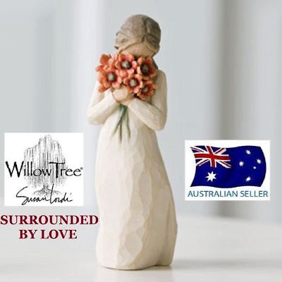 SURROUNDED BY LOVE Demdaco Willow Tree Figurine By Susan Lordi BRAND NEW IN BOX