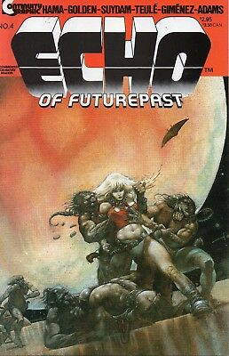 Echo Of Future Past #4 (VFN)`85 Various