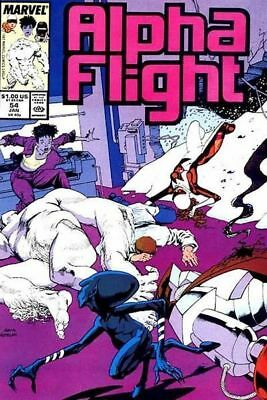 Alpha Flight #54 Vol.1 Vf/nm (X-Men)