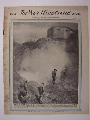 Bismarck, Nuremberg, Malta, Inniskilling Fusiliers The War Illustrated # 245