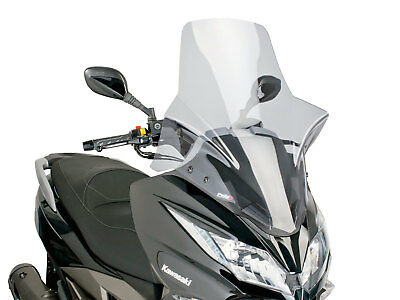 Windshield PUIG V-Tech Touring Smoke For Kawasaki J 300i WINDSCREEN