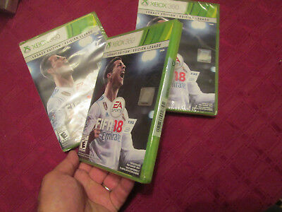 FIFA 18: Legacy Edition Xbox 360 2018 BRAND NEW FACTORY SEALED US EDITION