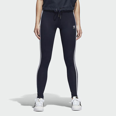Women's Adidas Originals 3-Stripes Leggings Legend Ink/Navy [Z]BP5246