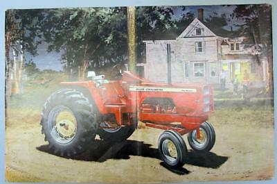 Original 1967 Allis Chalmers One-Ninety Tractor 3 pg Ad JIMMY TURN ON THE LIGHT