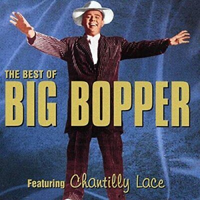 The Big Bopper - The Best Of - The Big Bopper CD D5VG The Cheap Fast Free Post
