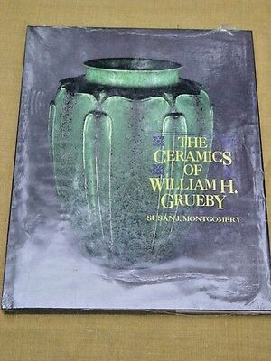 William H Grueby American Arts & Crafts Pottery Reference Book,hardcover..sealed