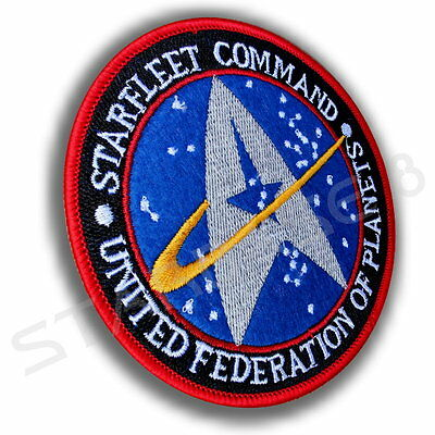 Starfleet Command United Federation Of Planets Star Trek Discovery Aufnäher