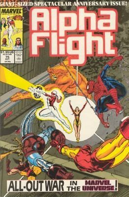 Alpha Flight #75 Vol.1 Vf/nm (X-Men) Spider-Man Iron Man