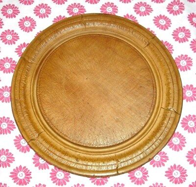 Vintage Carved Bread Board / Cleaned & Waxed