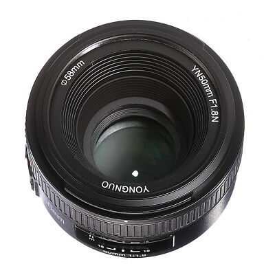 Yongnuo YN 50mm F1.8 AF/MF Auto/Manual Focus Prime Lens For Nikon F DSLR Camera