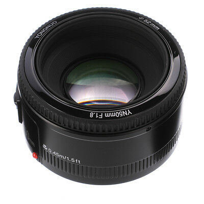Yongnuo YN 50mm F1.8 AF/MF Auto/Manual  Focus Fixed Prime Lens for Canon EOS EF