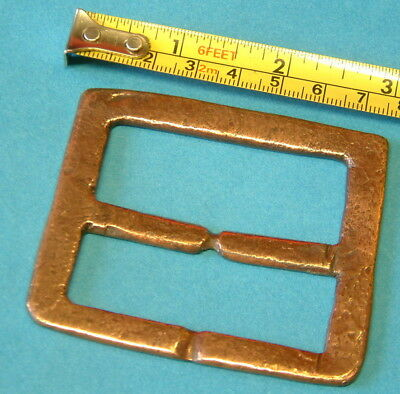 Very Large Copper BUCKLE  from HMS COLOSSUS sunk 1798 One of NELSONS SHIPS