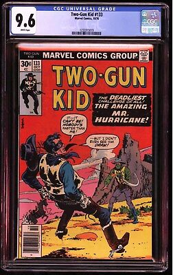 Two-Gun Kid  #133 CGC 9.6 White Highest and Only Graded Copy!