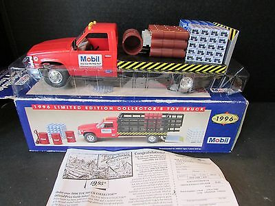 Mobil Toy Truck 1996 Ltd Ed Skids/crate Load Truck Boxed