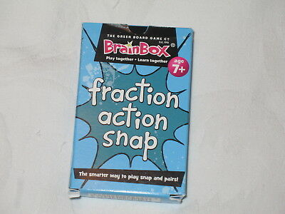 Maths Fraction action Snap Card Game BrainBox - Maths Learning Resource