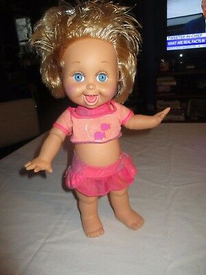 Vintage Galoob 1990 Baby Face So Playful Penny Doll #10