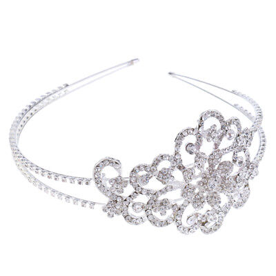 Princess Crown Tiara Girls Headband Bridal Wedding Jewelry Hair Accessories