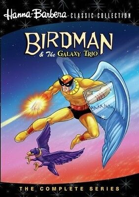 Birdman And The Galaxy Trio: The Complete Series [New DVD] Manufactured On Dem