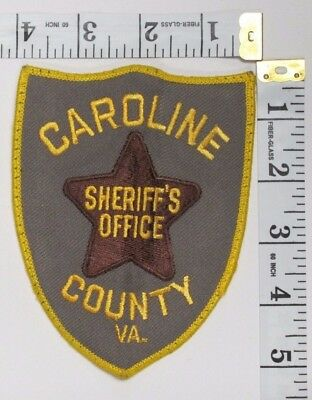 Caroline County Virginia Sheriff's Office Shoulder Patch