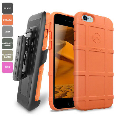 meet 1e1e0 bbabc MAGPUL [FIELD] PHONE Case Cover for Apple iPhone 8 7 Plus With Belt Clip  Holster