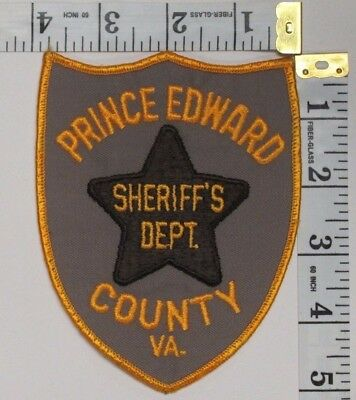 Prince Edward County Virginia Sheriff's Department Shoulder Patch