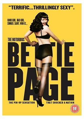 The Notorious Bettie Page (2005) [New DVD]