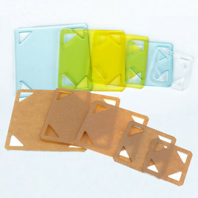 5pcs Assorted Size Square Acrylic Quilting Templates for Quilter Patchwork