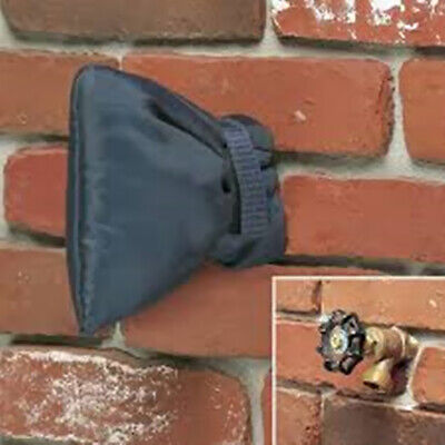 2 Pcs Outdoor Faucet Cover Winter Faucet Socks for Freeze Protection Gray